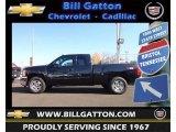 2012 Black Granite Metallic Chevrolet Silverado 1500 LT Extended Cab 4x4 #73142885