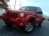 2002 Flame Red Jeep Liberty Limited 4x4 #73142979
