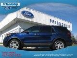2011 Kona Blue Metallic Ford Explorer Limited 4WD #73142498