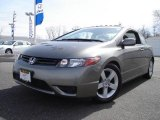 2006 Galaxy Gray Metallic Honda Civic EX Coupe #7278746