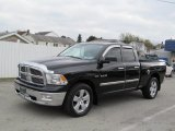 2010 Brilliant Black Crystal Pearl Dodge Ram 1500 Big Horn Quad Cab 4x4 #73142944