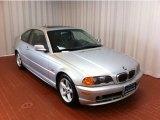 2000 Titanium Silver Metallic BMW 3 Series 328i Coupe #73142469