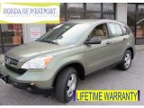 2009 Green Tea Metallic Honda CR-V LX 4WD #73142525