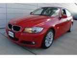 2010 Crimson Red BMW 3 Series 328i xDrive Sedan #73142464