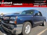 2005 Dark Blue Metallic Chevrolet Silverado 1500 LS Crew Cab #73142587