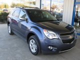 2013 Atlantis Blue Metallic Chevrolet Equinox LTZ AWD #73180801
