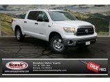 2013 Super White Toyota Tundra TRD CrewMax 4x4 #73180055