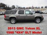 2013 Mocha Steel Metallic GMC Yukon XL SLT 4x4 #73180687