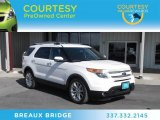 2011 White Platinum Tri-Coat Ford Explorer Limited #73180683
