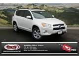 2012 Blizzard White Pearl Toyota RAV4 V6 Limited 4WD #73180023