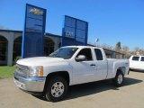 2013 Summit White Chevrolet Silverado 1500 LT Extended Cab 4x4 #73180253