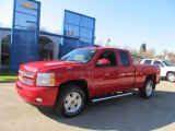 2013 Victory Red Chevrolet Silverado 1500 LT Extended Cab 4x4 #73180250