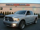 2012 Bright Silver Metallic Dodge Ram 1500 Big Horn Crew Cab 4x4 #73180752