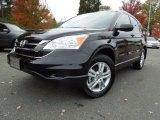 2010 Crystal Black Pearl Honda CR-V EX #73180563