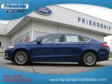 2013 Deep Impact Blue Metallic Ford Fusion Titanium #73180237