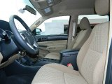 2013 Toyota Tacoma TSS Prerunner Double Cab Sand Beige Interior