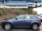 2013 Atlantis Blue Metallic Chevrolet Equinox LS AWD #73180731