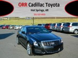 2013 Black Diamond Tricoat Cadillac ATS 2.5L Luxury #73180436