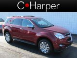 2010 Cardinal Red Metallic Chevrolet Equinox LT AWD #73180658