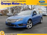 2011 Blue Flame Metallic Ford Fusion Sport #73180339
