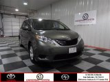 2012 Cypress Green Pearl Toyota Sienna LE #73180217