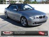 2004 Silver Grey Metallic BMW 3 Series 325i Convertible #73180327