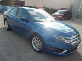 2011 Blue Flame Metallic Ford Fusion SEL V6 #73180200