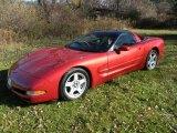 1998 Chevrolet Corvette Light Carmine Red Metallic