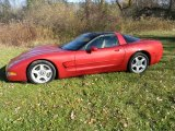 1998 Chevrolet Corvette Light Carmine Red Metallic