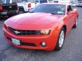 2010 Inferno Orange Metallic Chevrolet Camaro LT Coupe #73180077