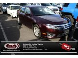 2011 Bordeaux Reserve Metallic Ford Fusion SEL V6 #73180070