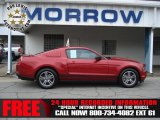 2011 Red Candy Metallic Ford Mustang V6 Premium Coupe #73180281