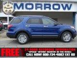 2013 Deep Impact Blue Metallic Ford Explorer XLT 4WD #73180278