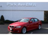 2009 Crimson Red BMW 3 Series 328xi Sedan #73180178