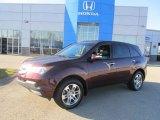2007 Dark Cherry Red Pearl Acura MDX Technology #73180597