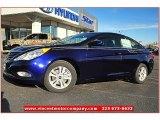 2013 Indigo Night Blue Hyundai Sonata GLS #73180488