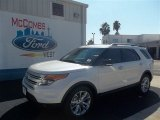 2013 White Platinum Tri-Coat Ford Explorer XLT #73233231