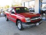 2003 Victory Red Chevrolet Silverado 1500 Z71 Extended Cab 4x4 #73233870