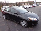 2013 Tuxedo Black Ford Focus S Sedan #73233324