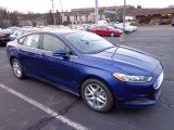 2013 Deep Impact Blue Metallic Ford Fusion SE #73233322