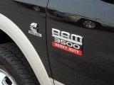 2010 Dodge Ram 3500 Laramie Mega Cab 4x4 Dually Marks and Logos
