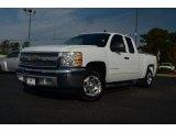 2012 Summit White Chevrolet Silverado 1500 LT Extended Cab #73233606