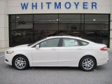 2013 White Platinum Metallic Tri-coat Ford Fusion SE #73233603