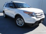 2013 White Platinum Tri-Coat Ford Explorer XLT #73233426
