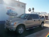 2013 Pale Adobe Metallic Ford F150 XLT SuperCrew #73233219