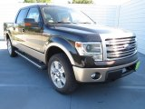 2013 Kodiak Brown Metallic Ford F150 Lariat SuperCrew 4x4 #73233422