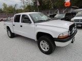 2004 Bright White Dodge Dakota SLT Quad Cab 4x4 #73233824