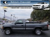 2000 Charcoal Gray Metallic Chevrolet Silverado 1500 Regular Cab 4x4 #73233822
