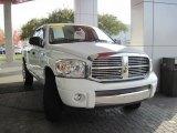 2007 Bright White Dodge Ram 1500 Laramie Quad Cab 4x4 #73233575