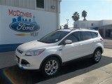 2013 White Platinum Metallic Tri-Coat Ford Escape SEL 2.0L EcoBoost #73233214
